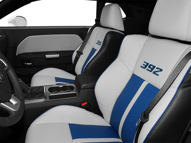 2013 Dodge Challenger Prices and Values Coupe 2D SRT-8 V8 front seat interior