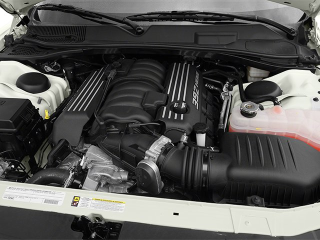 2013 Dodge Challenger Pictures Challenger Coupe 2D SRT-8 V8 photos engine