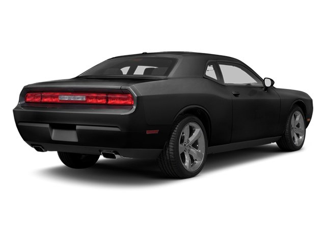 2013 Dodge Challenger Prices and Values Coupe 2D R/T V8 side rear view