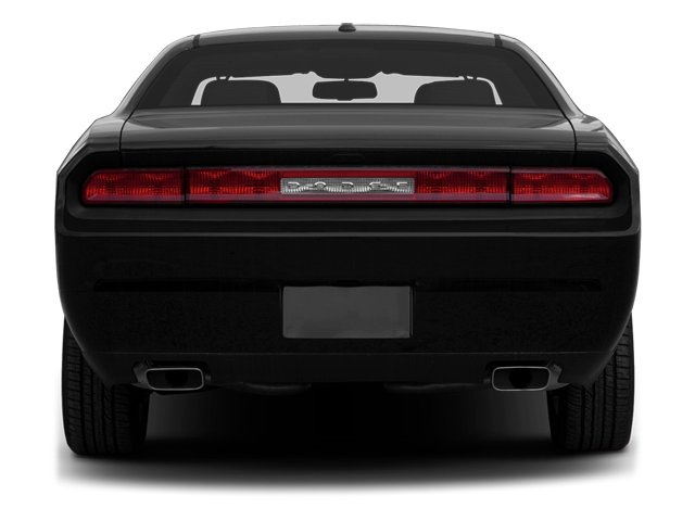 2013 Dodge Challenger Prices and Values Coupe 2D R/T V8 rear view