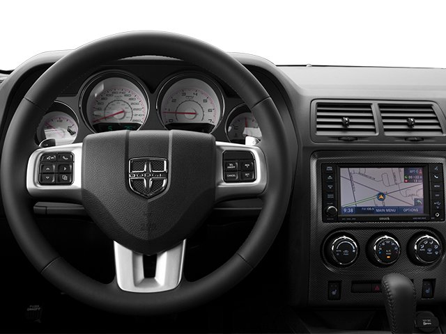 2013 Dodge Challenger Prices and Values Coupe 2D R/T V8 driver's dashboard