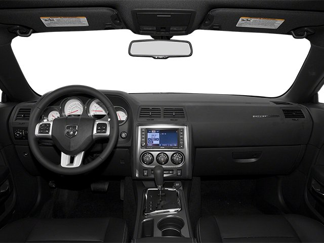 2013 Dodge Challenger Prices and Values Coupe 2D R/T V8 full dashboard