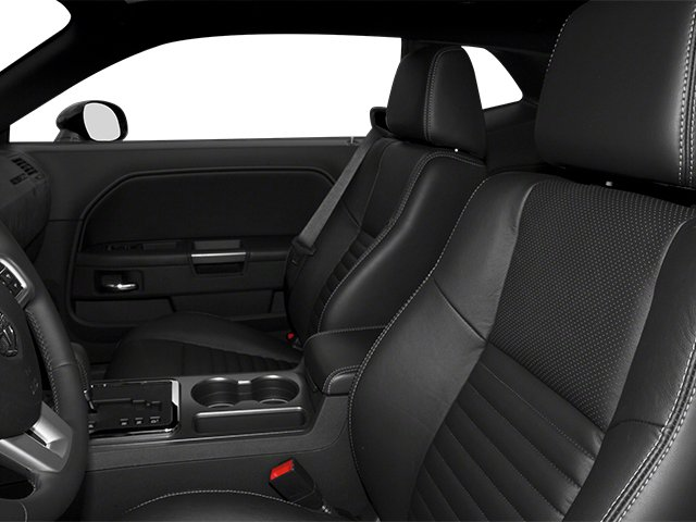2013 Dodge Challenger Prices and Values Coupe 2D R/T V8 front seat interior