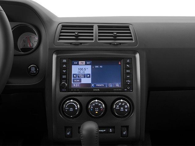 2013 Dodge Challenger Prices and Values Coupe 2D R/T V8 stereo system