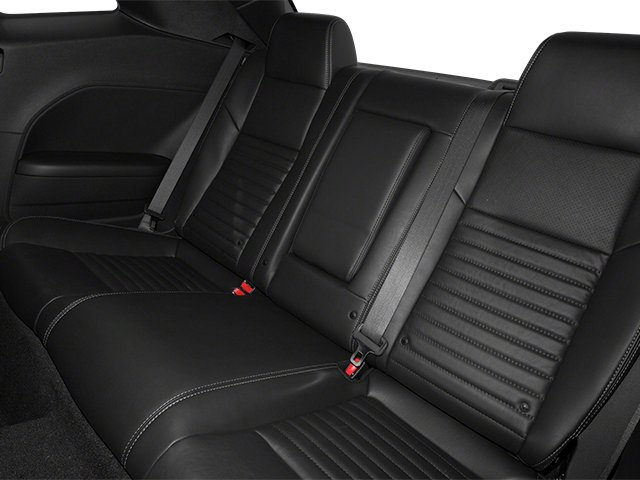 2013 Dodge Challenger Prices and Values Coupe 2D R/T V8 backseat interior