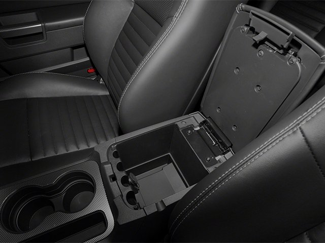2013 Dodge Challenger Prices and Values Coupe 2D R/T V8 center storage console