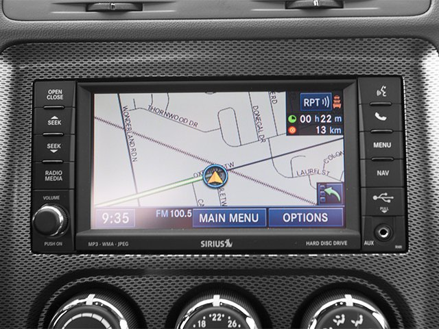 2013 Dodge Challenger Prices and Values Coupe 2D R/T V8 navigation system