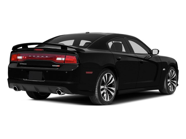 2013 Dodge Charger Prices and Values Sedan 4D SRT-8 V8 side rear view