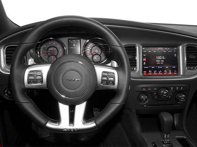 2013 Dodge Charger Prices and Values Sedan 4D SRT-8 V8 driver's dashboard