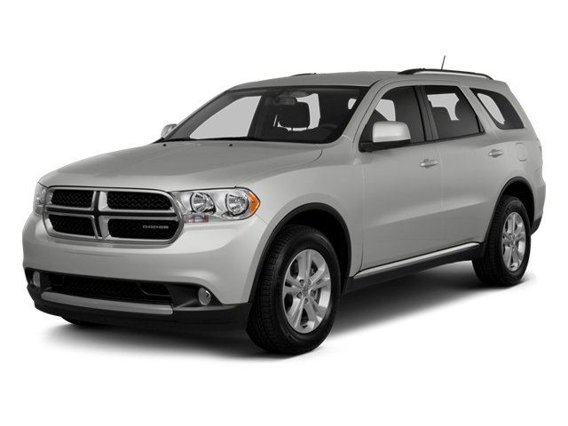 2013 Dodge Durango Prices and Values Utility 4D Crew AWD side front view