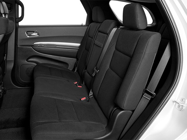 2013 Dodge Durango Prices and Values Utility 4D Crew AWD backseat interior