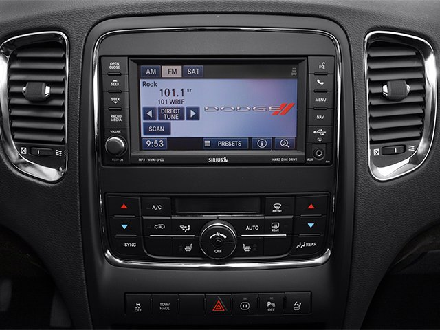 2013 Dodge Durango Pictures Durango Utility 4D R/T AWD photos stereo system