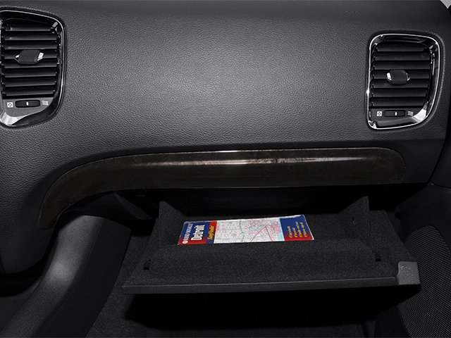 2013 Dodge Durango Pictures Durango Utility 4D R/T AWD photos glove box