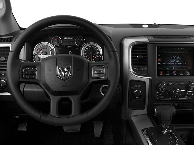 2013 Ram Truck 1500 Prices and Values Crew Cab Tradesman 4WD driver's dashboard