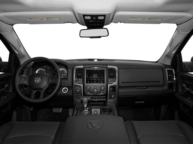 2013 Ram Truck 1500 Prices and Values Crew Cab Tradesman 4WD full dashboard