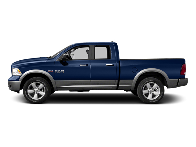 2013 Ram Truck 1500 Prices and Values Quad Cab Tradesman 2WD side view