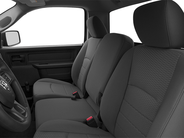 2013 Ram Truck 1500 Prices and Values Regular Cab SLT 4WD front seat interior
