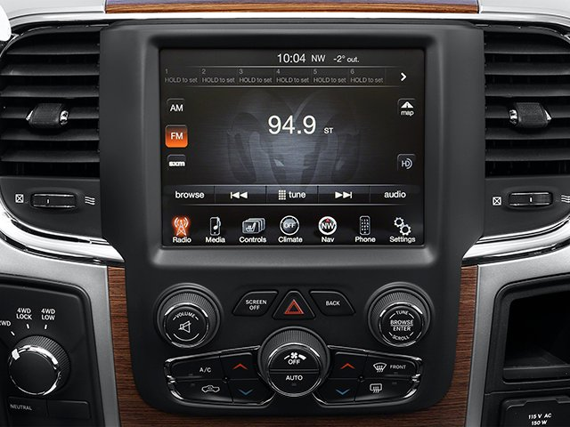 2013 Ram Truck 2500 Prices and Values Crew Cab Tradesman 2WD stereo system