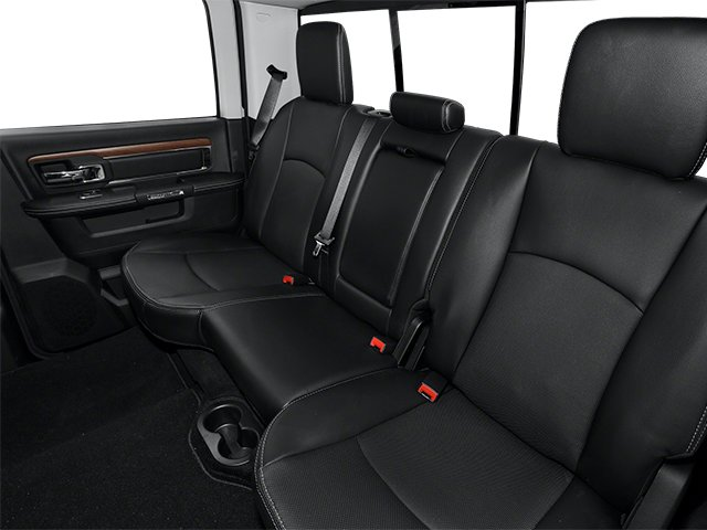 2013 Ram Truck 2500 Prices and Values Crew Cab Tradesman 2WD backseat interior