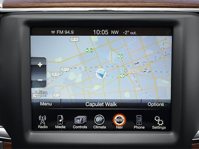 2013 Ram Truck 2500 Prices and Values Crew Cab Tradesman 2WD navigation system