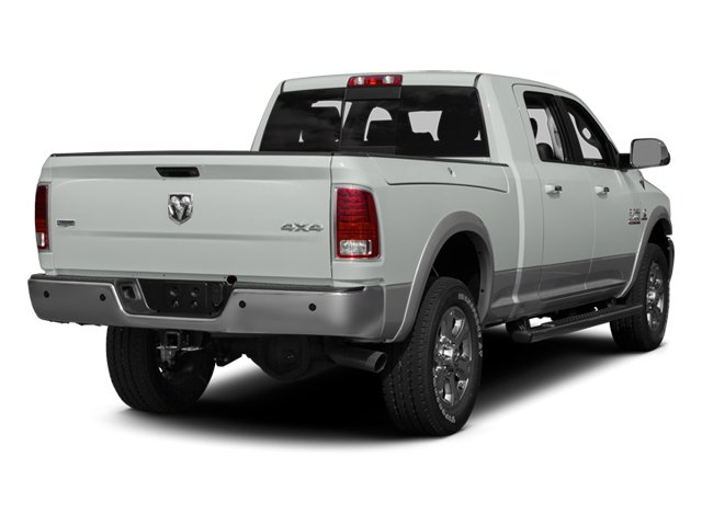 2013 Ram Truck 3500 Prices and Values Mega Cab Laramie 4WD side rear view