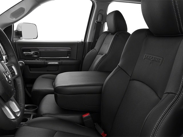2013 Ram Truck 3500 Prices and Values Mega Cab Laramie 4WD front seat interior