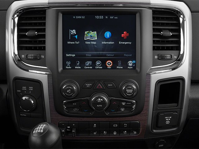 2013 Ram Truck 3500 Prices and Values Mega Cab Laramie 4WD stereo system