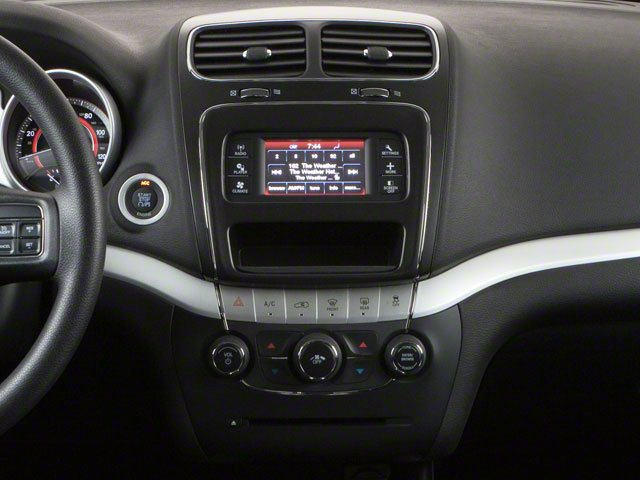2013 Dodge Journey Prices and Values Utility 4D SXT AWD center console