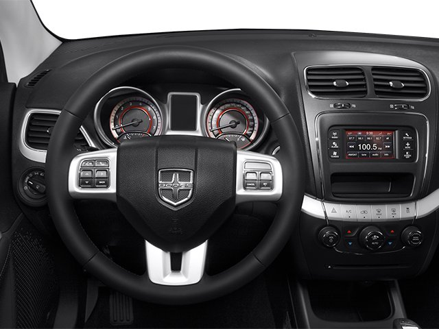 2013 Dodge Journey Prices and Values Utility 4D R/T 2WD driver's dashboard