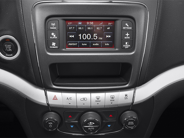 2013 Dodge Journey Prices and Values Utility 4D R/T 2WD stereo system