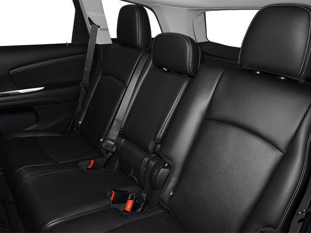 2013 Dodge Journey Prices and Values Utility 4D R/T 2WD backseat interior