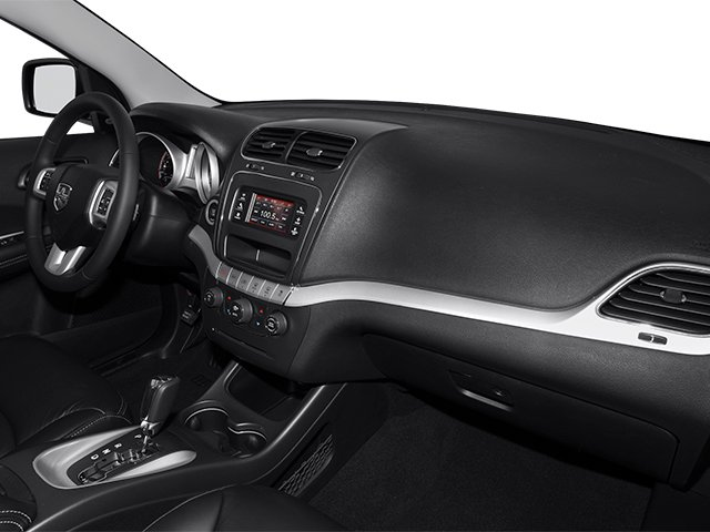 2013 Dodge Journey Prices and Values Utility 4D R/T 2WD passenger's dashboard