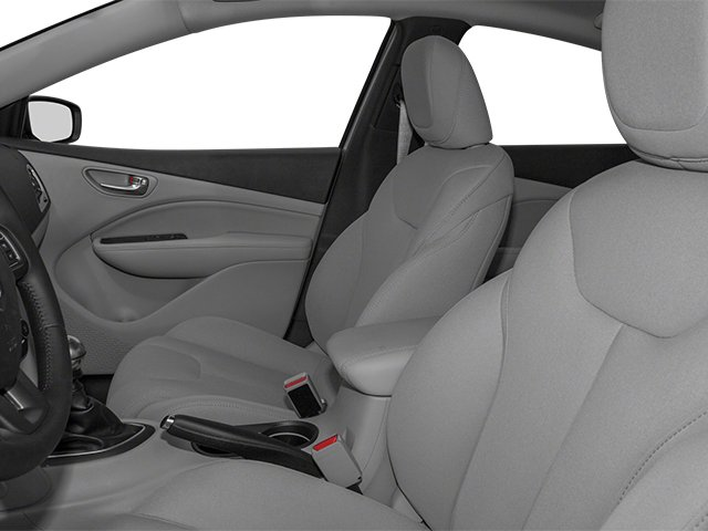 2013 Dodge Dart Prices and Values Sedan 4D SXT front seat interior