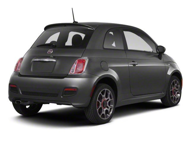 2013 FIAT 500 Pictures 500 Hatchback 3D Lounge I4 photos side rear view