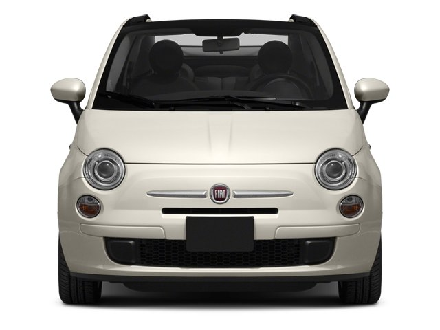 2013 FIAT 500 Prices and Values Convertible 2D Pop I4 front view