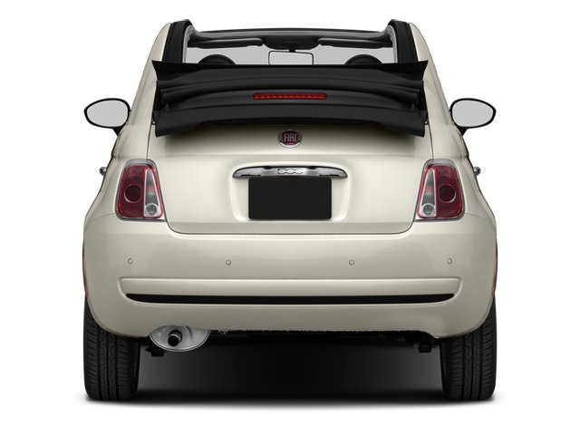 2013 FIAT 500 Prices and Values Convertible 2D Pop I4 rear view