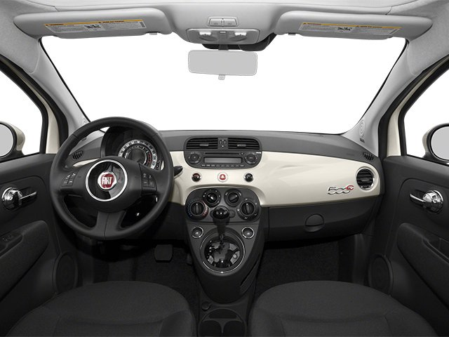 2013 FIAT 500 Prices and Values Convertible 2D Pop I4 full dashboard