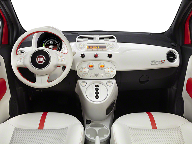 2013 FIAT 500e BATTERY ELECTRIC Pictures 500e BATTERY ELECTRIC Hatchback 3D 500e Electric photos full dashboard