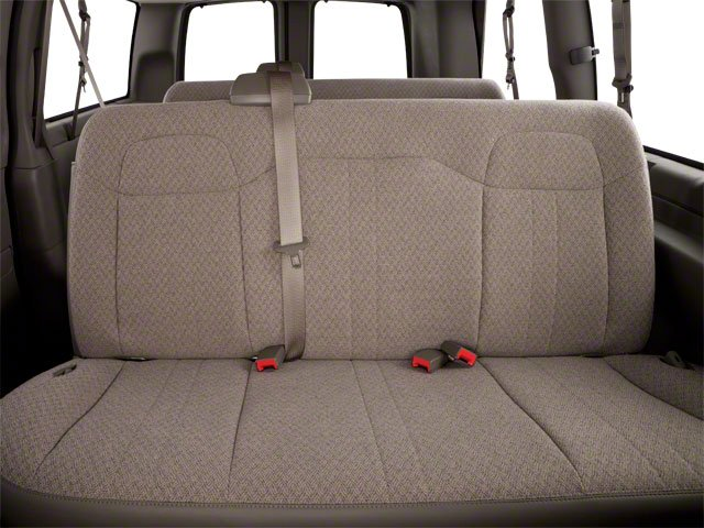2013 GMC Savana Passenger Pictures Savana Passenger Savana LT 135 photos backseat interior