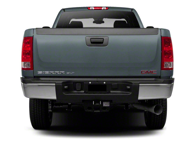 2013 GMC Sierra 2500HD Prices and Values Crew Cab SLE 2WD rear view