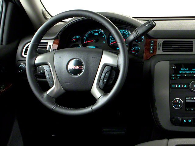 2013 GMC Sierra 2500HD Prices and Values Crew Cab SLE 2WD driver's dashboard