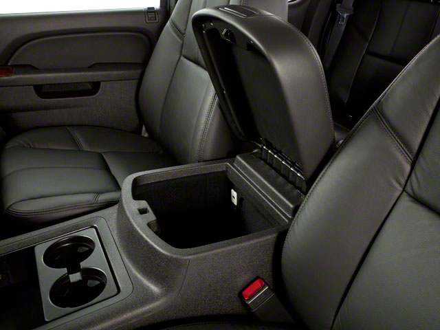 2013 GMC Sierra 2500HD Prices and Values Crew Cab SLE 2WD center storage console