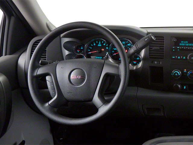 2013 GMC Sierra 2500HD Prices and Values Regular Cab SLE 2WD driver's dashboard