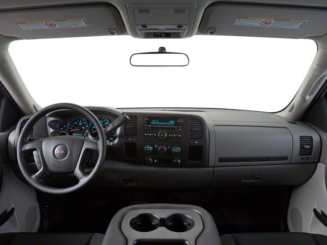 2013 GMC Sierra 2500HD Prices and Values Regular Cab SLE 2WD full dashboard