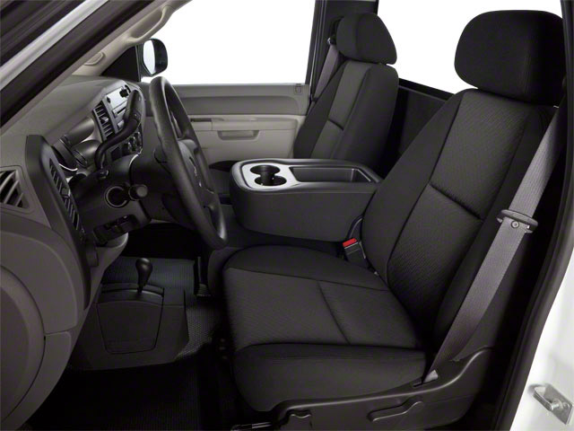 2013 GMC Sierra 2500HD Prices and Values Regular Cab SLE 2WD front seat interior