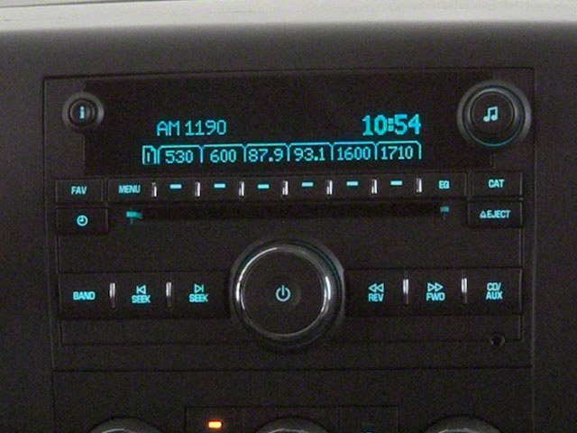 2013 GMC Sierra 2500HD Prices and Values Regular Cab SLE 2WD stereo system