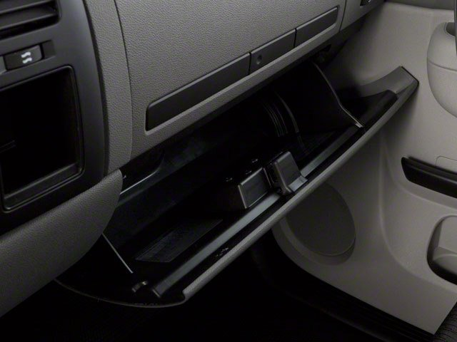2013 GMC Sierra 2500HD Prices and Values Regular Cab SLE 2WD glove box