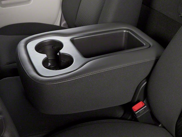 2013 GMC Sierra 2500HD Prices and Values Regular Cab SLE 2WD center storage console
