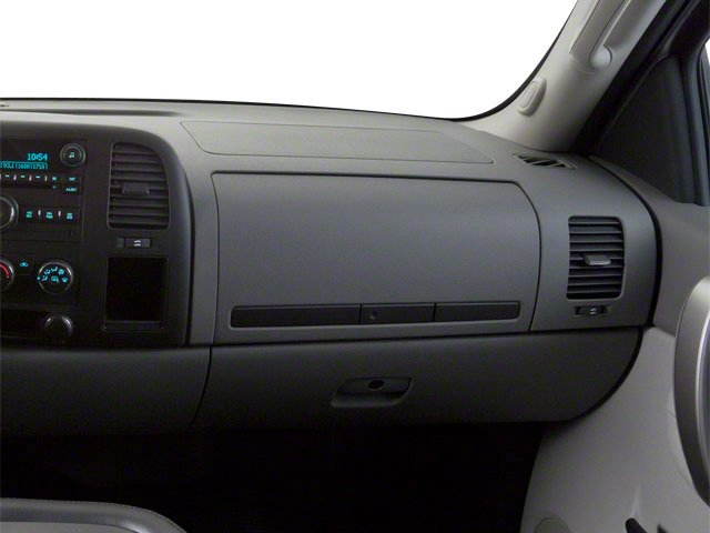 2013 GMC Sierra 2500HD Prices and Values Regular Cab SLE 2WD passenger's dashboard