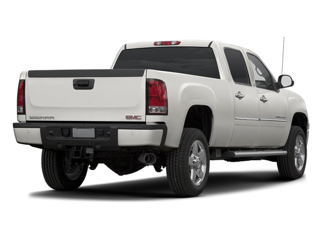 2013 GMC Sierra 2500HD Prices and Values Crew Cab Denali 4WD side rear view